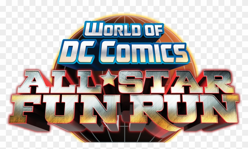 World Of Dc Comics All Star Fun Run - Poster Clipart #2241774