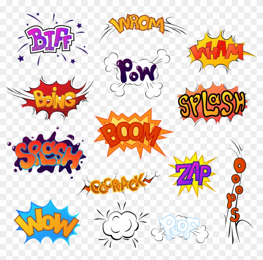 Image Library Stock Sound Comics Cartoon Illustration Comics Sound Effect Transparent Clipart 2245360 Pikpng