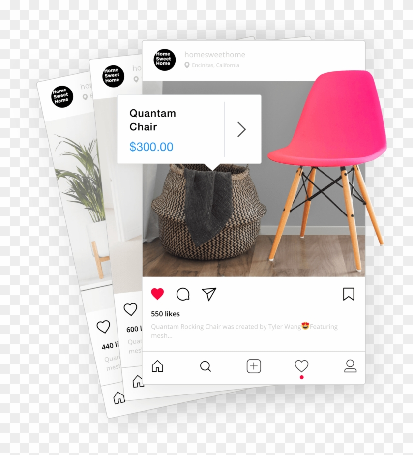 Shoppable Instagram Posts Are Just A Few Clicks Away - Instagram Publicaciones Png Clipart #2246264