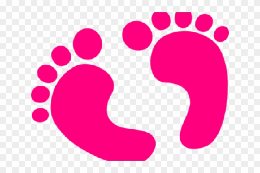 Feet Clipart Baby Shower Baby Feet Clip Art Png Download 2249802 Pikpng