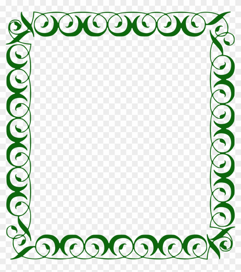Green Borders And Frames Clipart #2262132