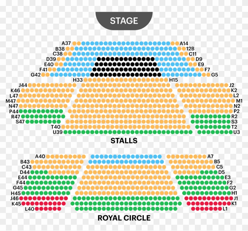 Prince Of Wales Theatre Seating Map Prince Of Wales Theatre