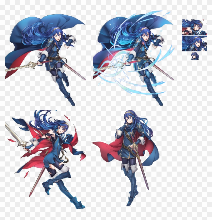 Click For Full Sized Image Lucina - Lucina Fire Emblem Heroes Clipart #2266561