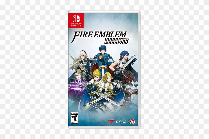 Fire Emblem Warriors Box Art - Fire Emblem Warriors Switch Clipart #2267176