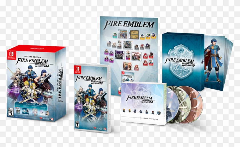 Fire Emblem Warriors - Fire Emblem Warriors Special Edition Us Clipart #2267698