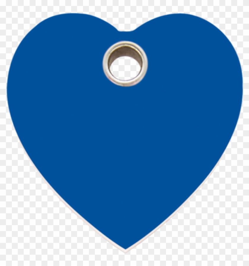 Dark Blue Heart Plastic Pet Tag - Location Instagram Logo Clipart #2279361