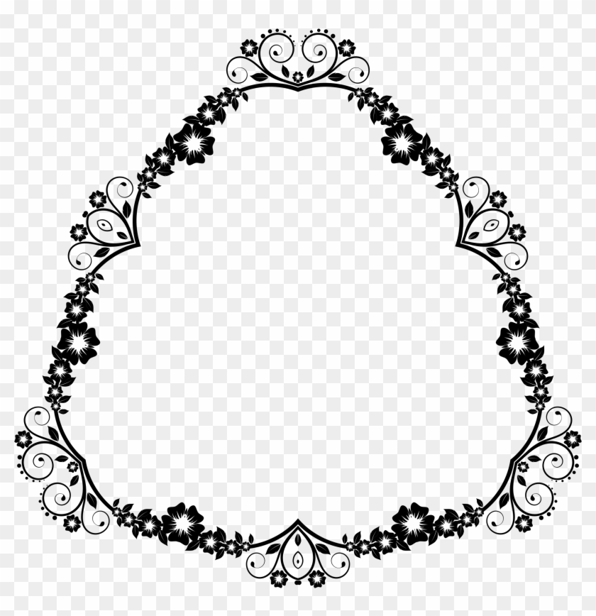 This Free Icons Png Design Of Flower Frame Extrapolated - Circle Clipart #2294178