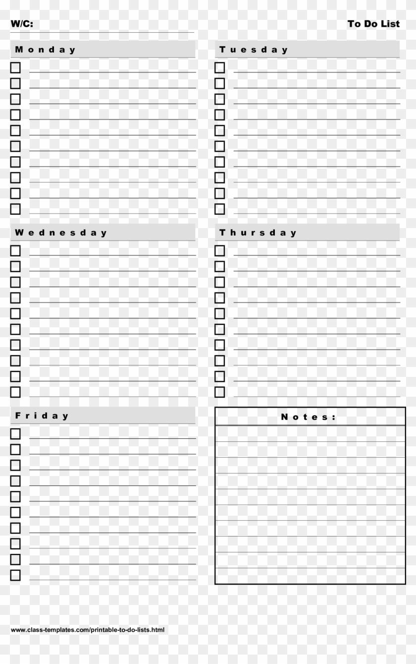 Schedule Template Printable Weekly Planner Free To   Calendar ...