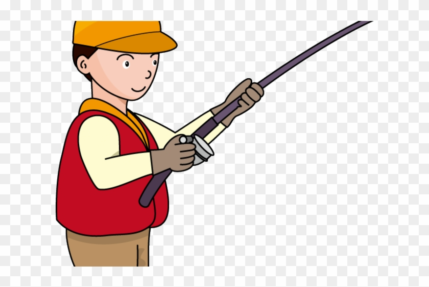 Fishing Rod Clipart Fisherman Clipart Fisherman With Rod Png Download 2299151 Pikpng