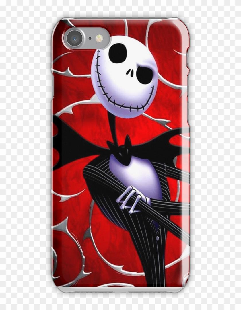 Jack Skellington In Red Iphone 7 Snap Case Nightmare