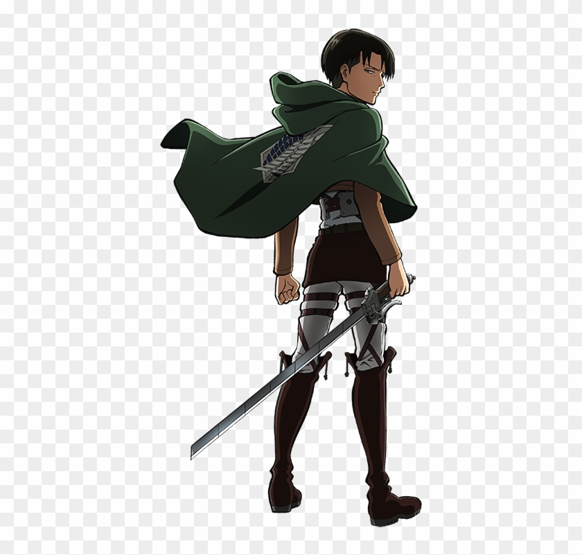 Attack On Titan Transparent Background Png Eren And Levi Fighting Clipart 233200 Pikpng