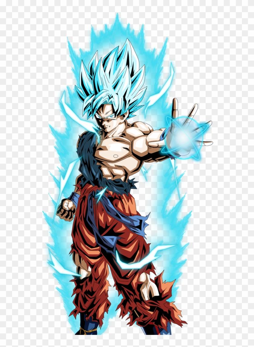 Goku Super Saiyan God Super Saiyan Dbxv By Armorkingtv21 - Goku Super Saiyan God Blue Hd Clipart #233614