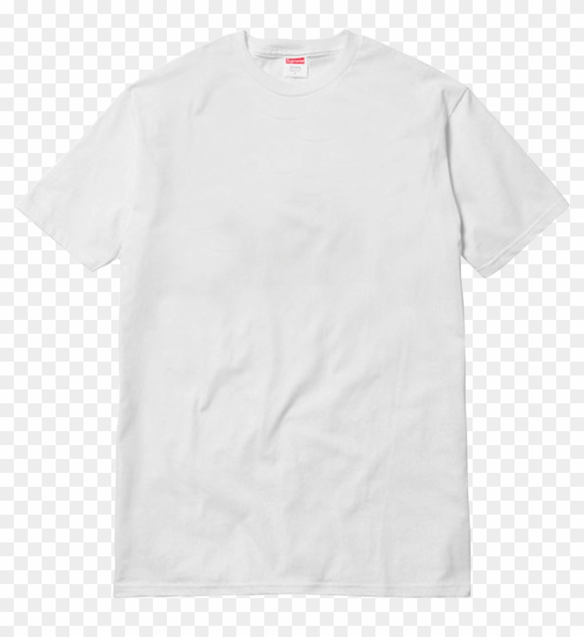 Design Your Own Supreme Milan Opening Tee - White T Shirt Sample Clipart #234297