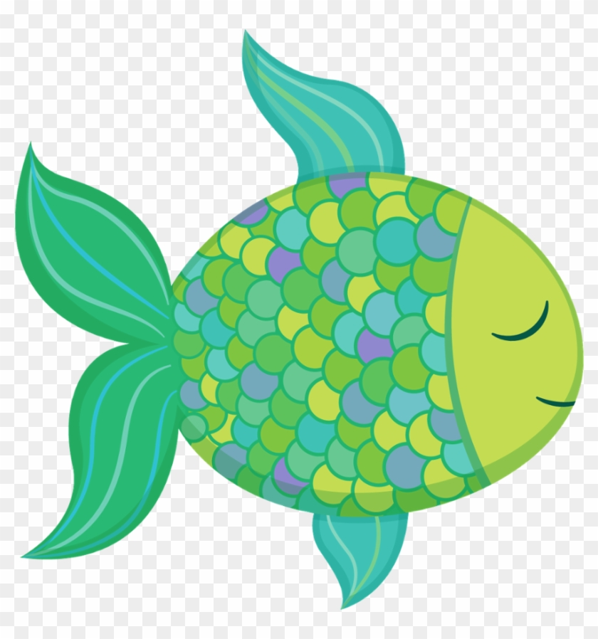Coral Clipart School Fish - Cute Ocean Animal Clipart - Png Download #236024