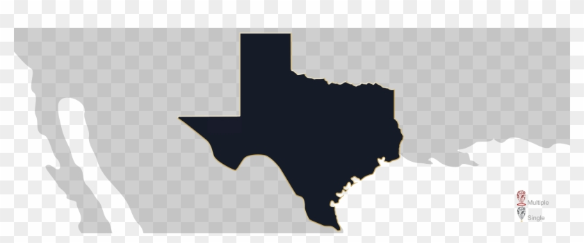 Map Showing Location Of Jewelry Appraisers In Texas - Peanuts Grown In The Us Clipart #237545