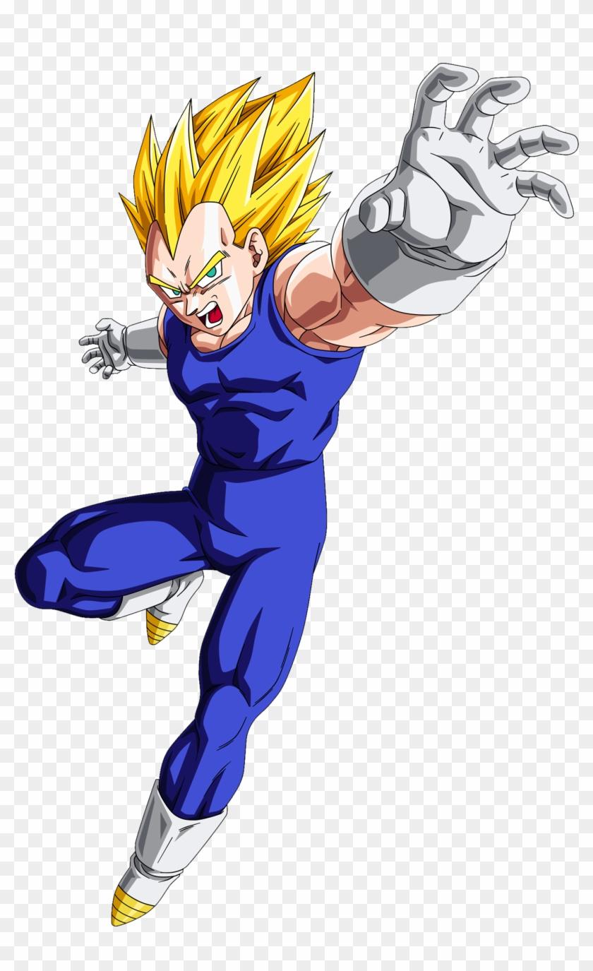 Super Saiyajin - Dragon Ball - Dragon Ball Vegeta Ssj Clipart #238277