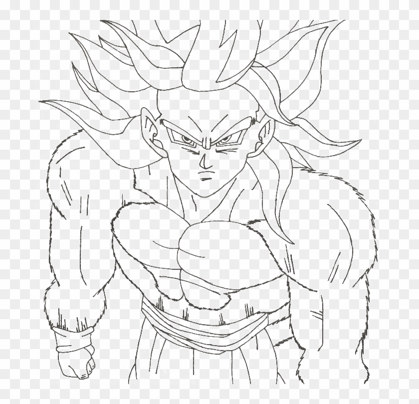 Coloring Book: Goten super saiyan 4 coloring pages | More than 45+ ... | 810x840