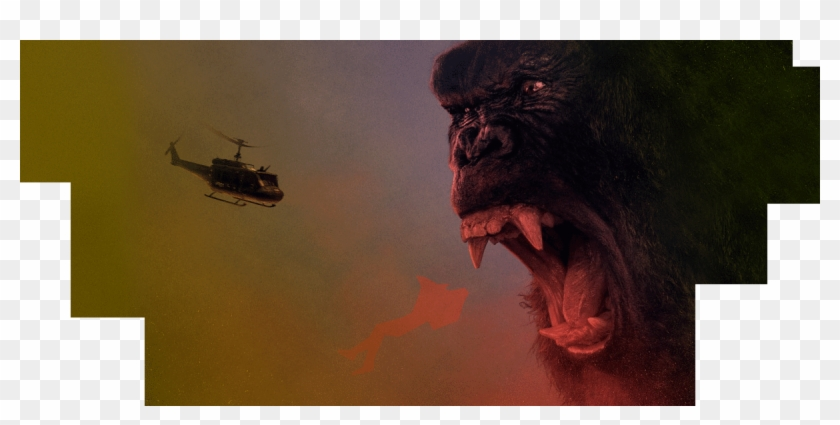 The Movie King Kong Has Been Around For 80 Years, Has - Kong Skull Island Clipart #239890