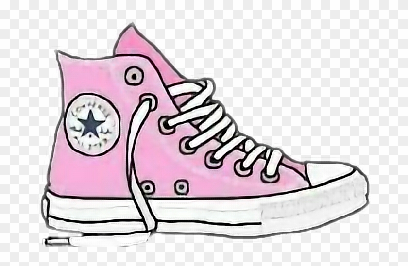 Picture Black And White Library Converse Clipart Cool - Png Converse Transparent Png #2303838