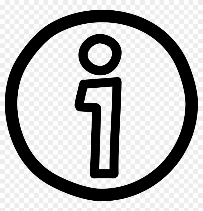 Information Hand Drawn Circular Button Icon Free Download - Money Icon Clipart #2307843