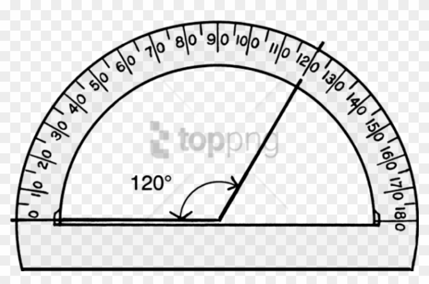 photograph regarding Free Printable Protractor titled Cost-free Png Protractor Png Png Picture With Clear - Diploma