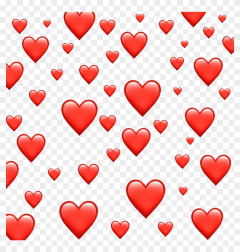 #emoji #red #heart #hearts #redheart #redhearts #tumblr - Emoji Clipart #2320315