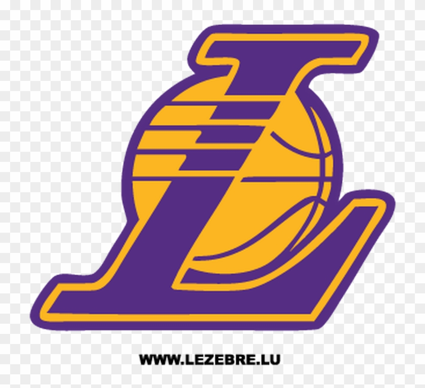 Los Angeles Lakers Logo Decal Los Angeles Lakers L Logo