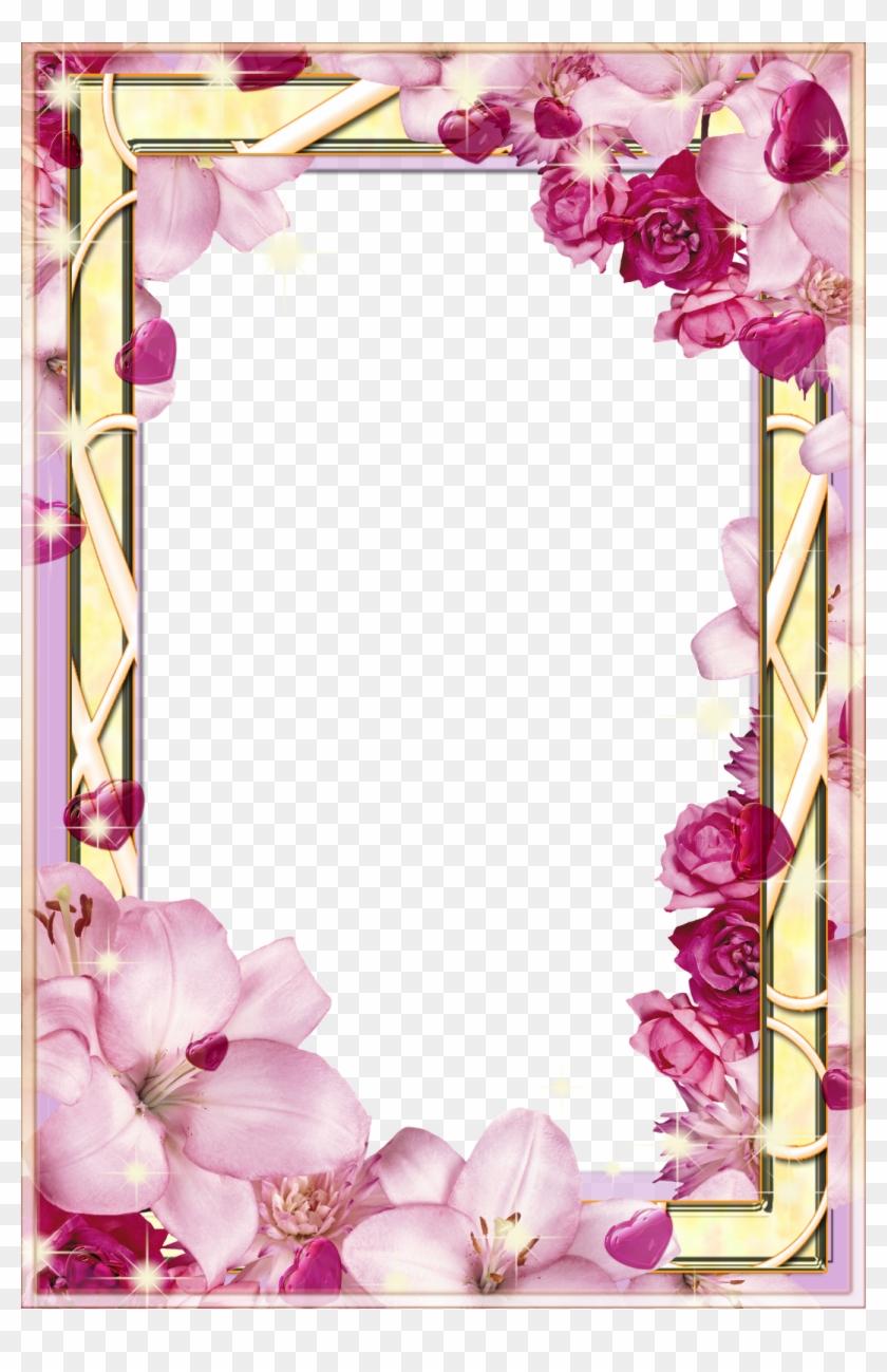 Resultado De Imagem Para Bordas De Flores Flower Frames For