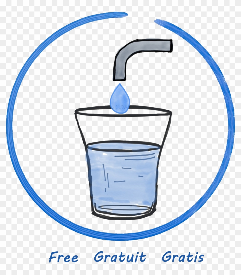 List Of Restaurants And Bars That Serve Free Tap Water - Drinking Water Clipart #2328686