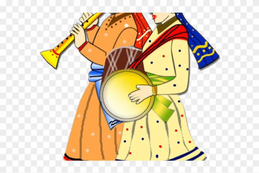 Colors Clipart Hindu Wedding - Indian Wedding Clipart Colour Png Transparent Png #2330014
