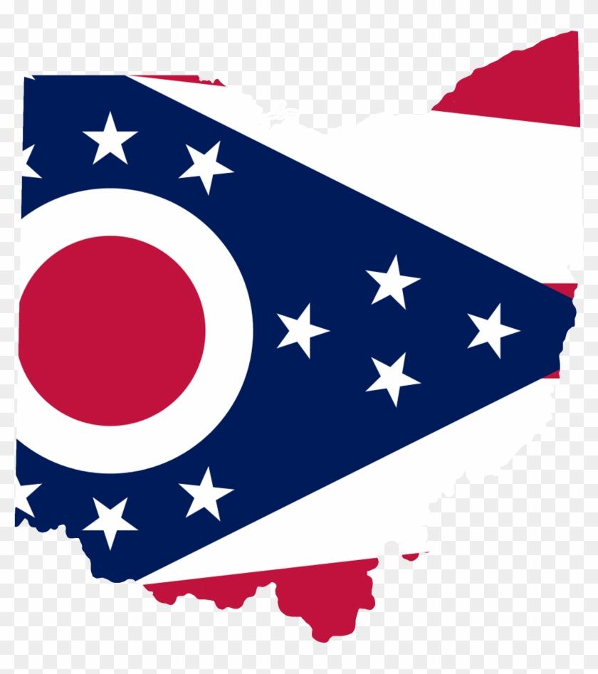 2000 X 2085 2 - Ohio Flag Map Clipart #2333744
