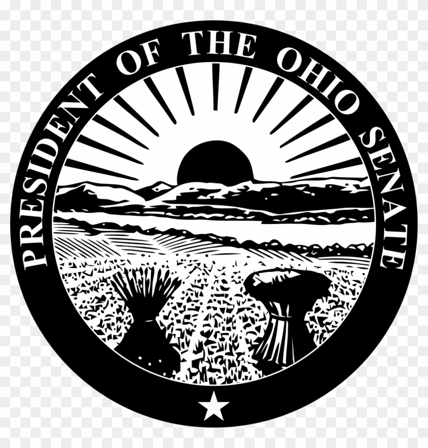 1200 X 1200 4 0 - Ohio State Seal Clipart #2340913