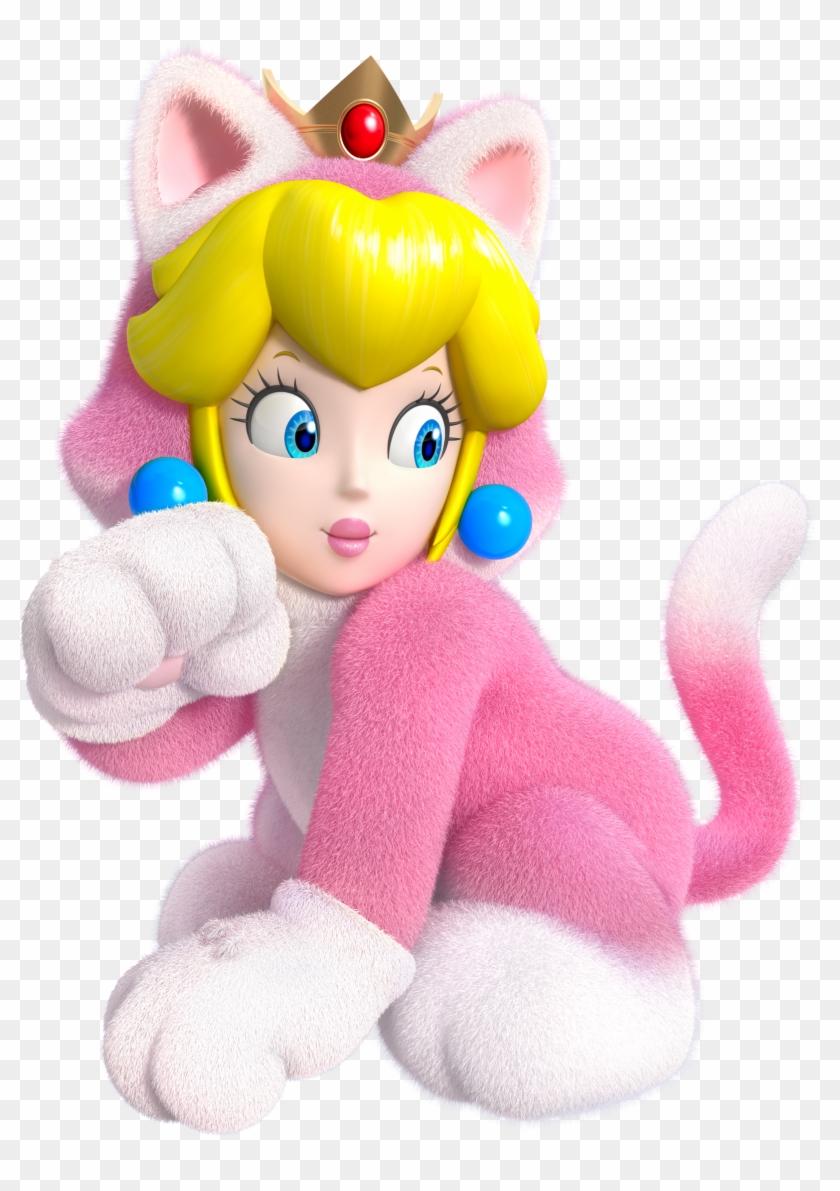 Cat Princess Peach Mariod 3d World Super Mario 3d World
