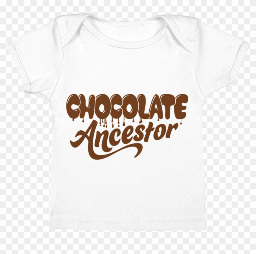 Dripping Chocolate Ancestor Infant Tee - Calligraphy Clipart #2342950