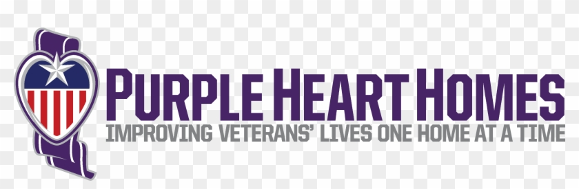 Purple Heart Homes Shares Vr Video Of Double Amputee - Purple Heart Homes Logo Clipart #2347386