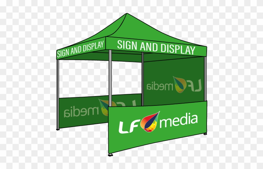 3 Meter Branded Tent Perth - Canopy Clipart #2349822