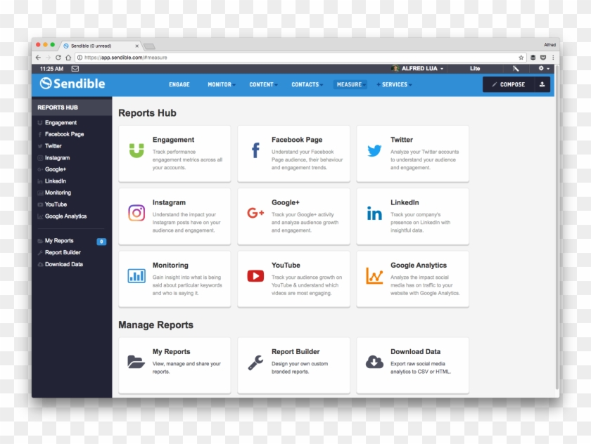 Sendible Is A Social Media Management Tool With Considerable - Social Media Management System Clipart #2353341