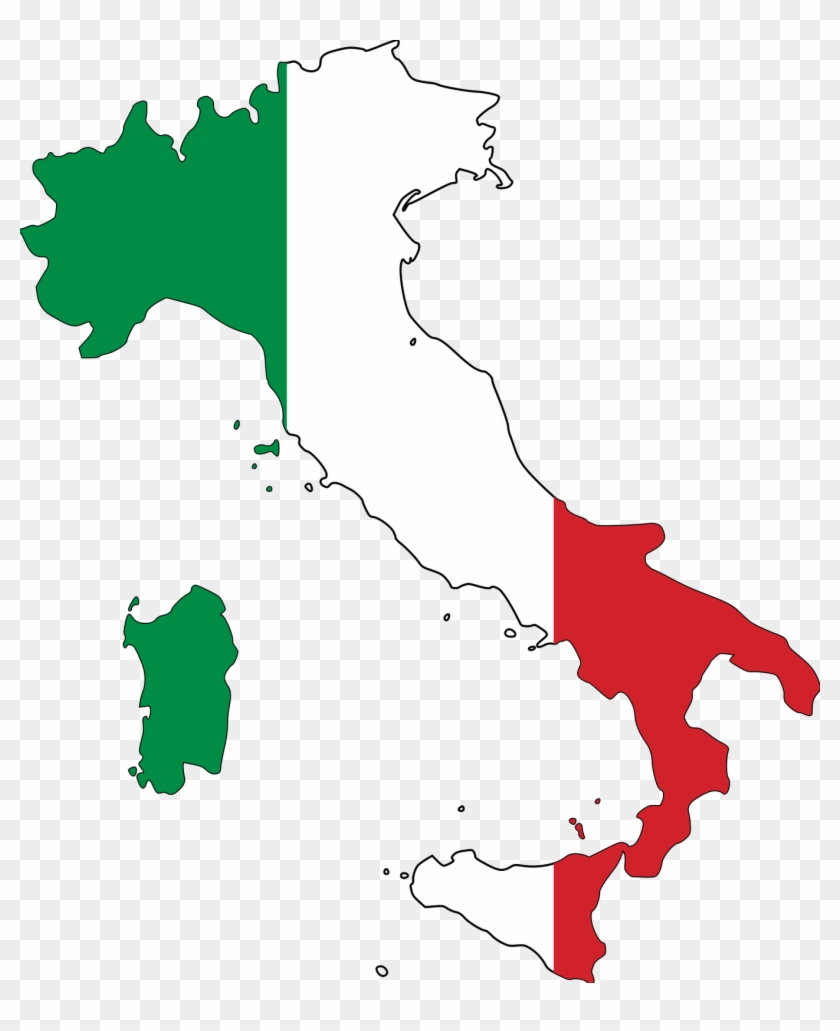 Download Map Of Italy.Italian Flag Flag Map Of Italy Hd Png Download 2353731