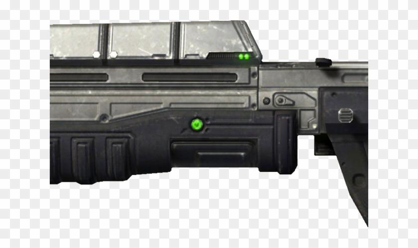 Drawn Rifle Assault Rifle - Halo Clipart #2354027