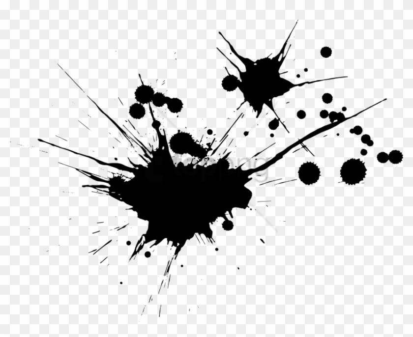 Free Png Ink Splash Png Png Image With Transparent Black Blood Splatter Transparent Clipart 2357082 Pikpng