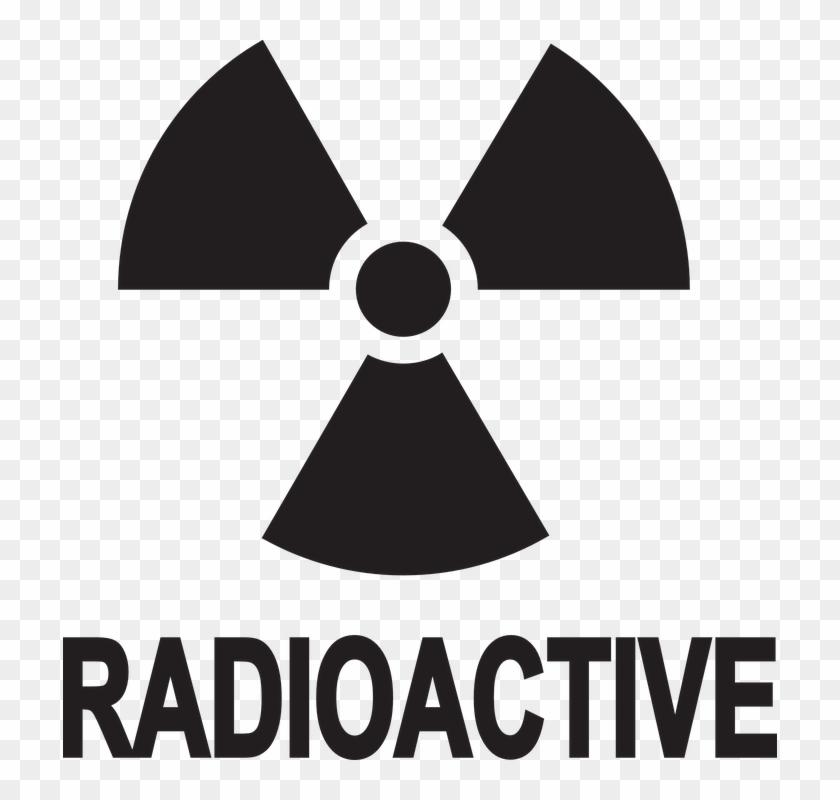 Safety, Danger, Radioactive, Information, Warning, - Transparent Background Radioactive Symbol Clipart #2359870