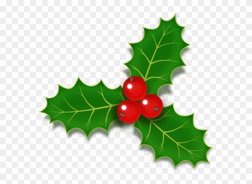Holly Berries Icon Psd - Christmas Holly Berries Clipart #2365619