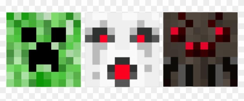 Minecraft Clipart - Ghast Minecraft Pixel Art - Png Download #2365838