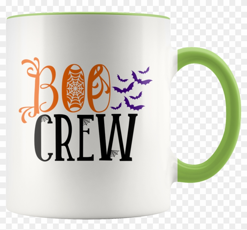 Boo Crew Funny Halloween Ghost Coffee Mug With Vampire ...