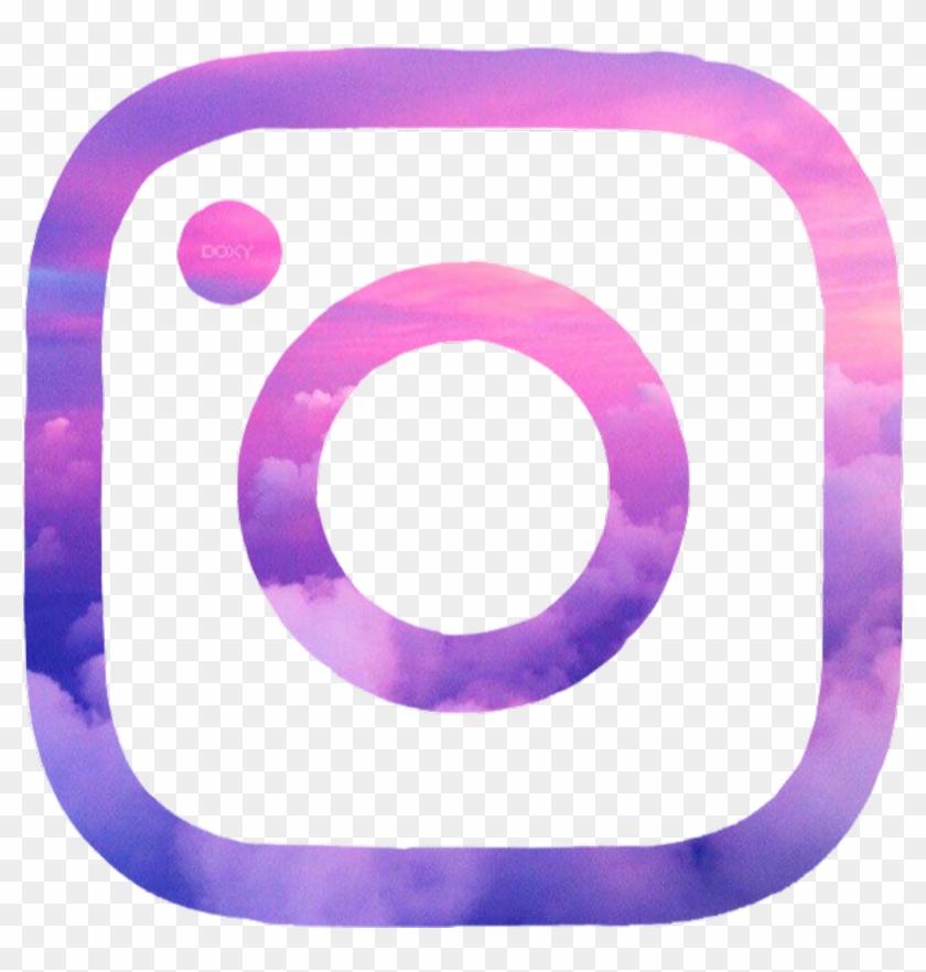 #instagram #aesthetic #logo #pink #purple - Twitter Png ...