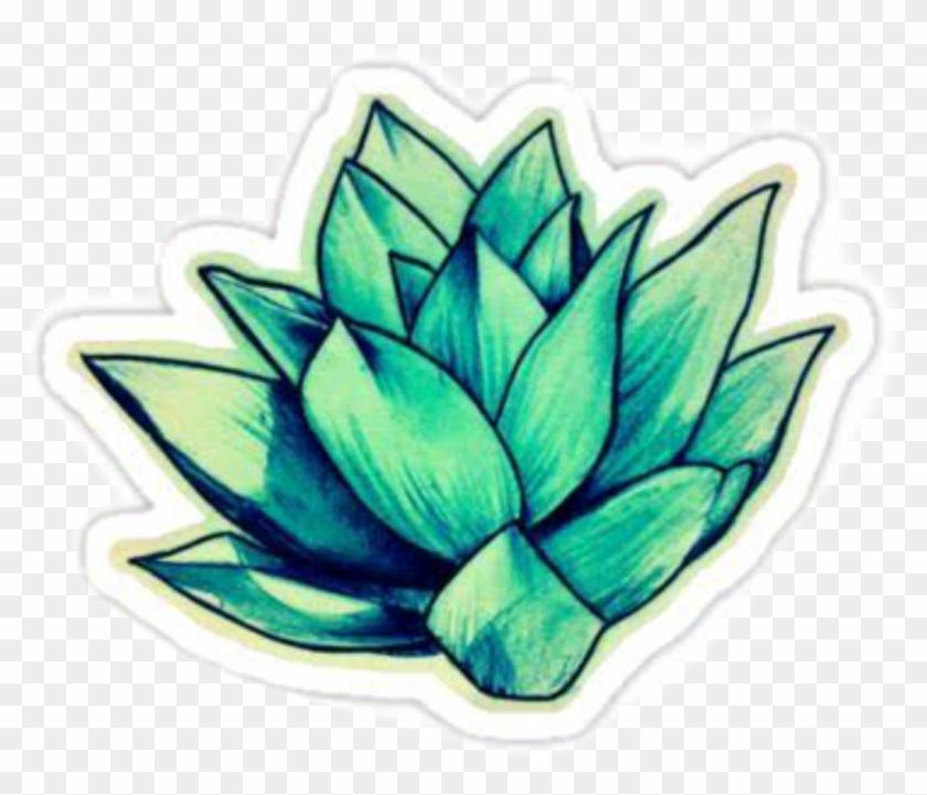 Doğa Çiçek Tumblr Stickers Png Tumblr Stickers Plant - Flower Stickers Clipart #2391406