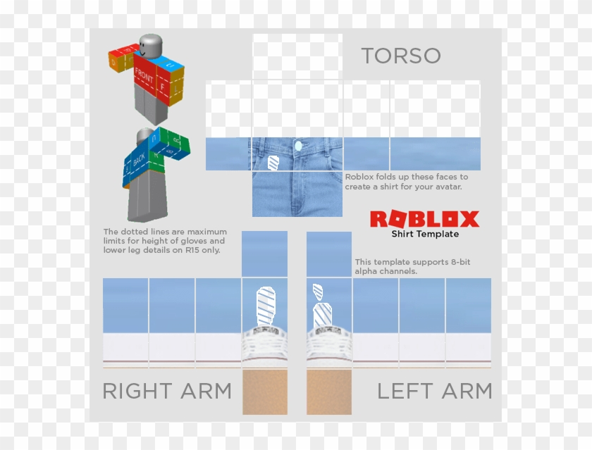 Roblox Doge Template Roblox Transparent Shirt Template 2018 Clipart 2395848 Pikpng