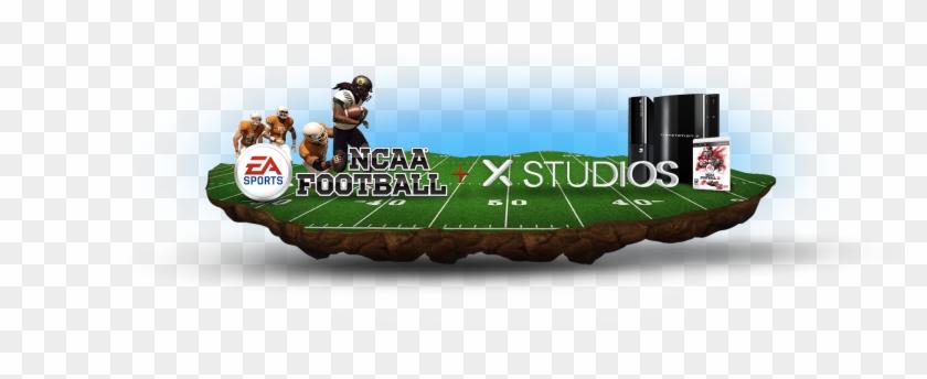 Ea Sports Ncaa Football Supersim - Ncaa Football 13 Cover Clipart #2399189