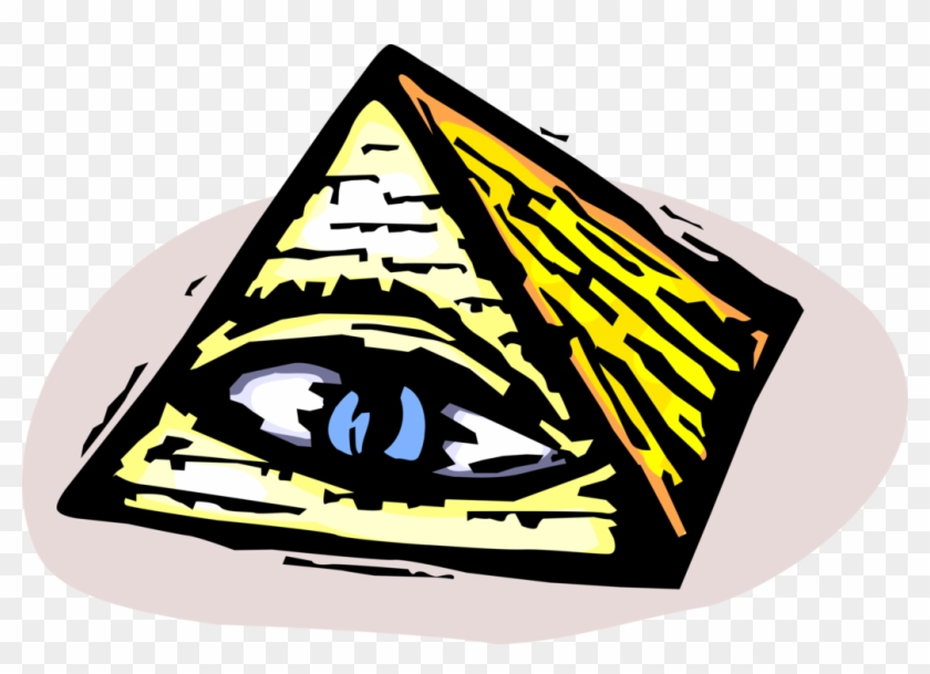 Vector Illustration Of Ancient Egyptian Pyramid With Clipart #242975