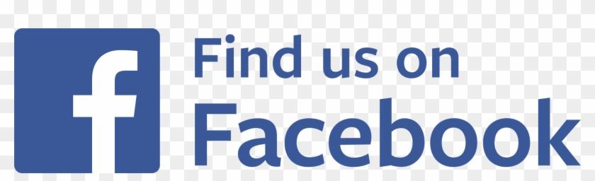 Find Us On Facebook Transparent Png Stickpng - Find Us On Facebook Logo Transparent Clipart #249482